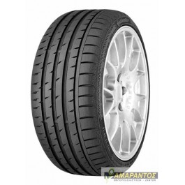 CONTINENTAL 215/40-17 SPORTCONTACT 3 87Y XL